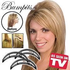Vlasové doplnky Bumpits - 4 farby - Obrázok č. 1