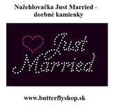 Just Married - nažehlovačka,