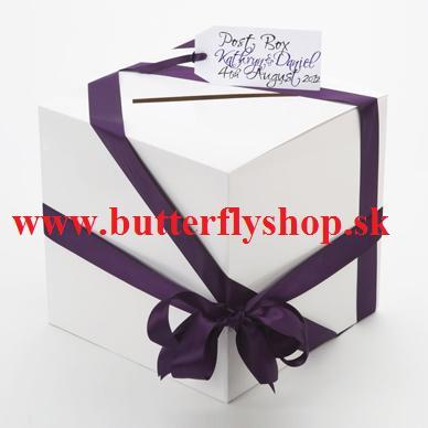 Box na peňažné dary / gratulačné karty - Obrázok č. 1