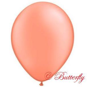 Balón 30cm - lososový - Obrázok č. 1