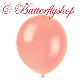 Balón malý - lososový - Obrázok č. 1