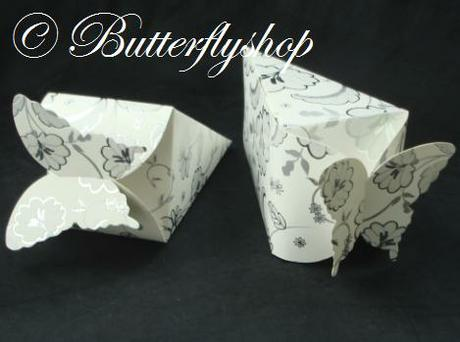 """Krabička """"motýľ"""" - trojuholníková  - Obrázok č. 1"""