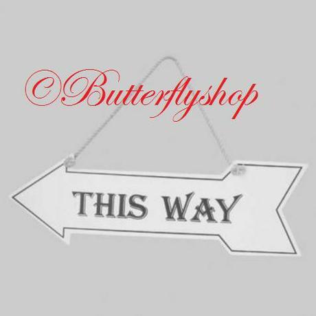 """Závesná tabuľa """"This Way"""" - Obrázok č. 1"""