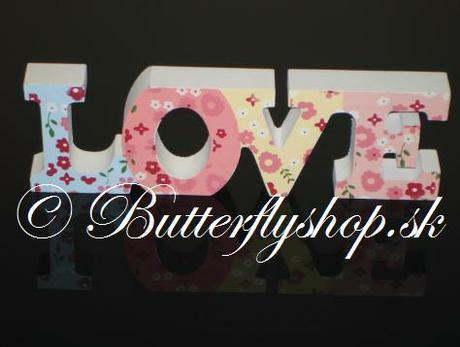 """Dekorácia """" Love"""" - Obrázok č. 2"""