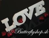 "Dekorácia "" Love"","