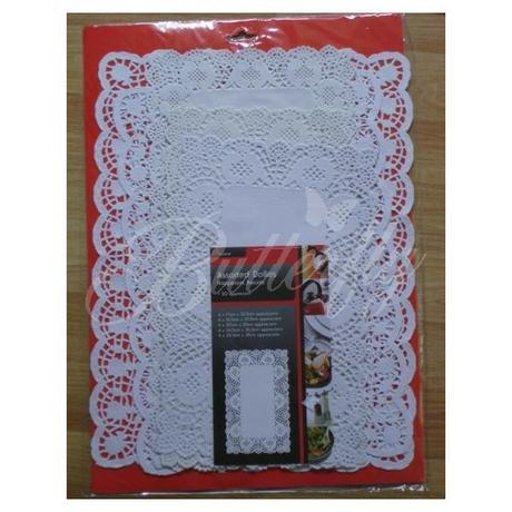 Papierové obrúsky - obdĺžniky MIX 20ks - Obrázok č. 1