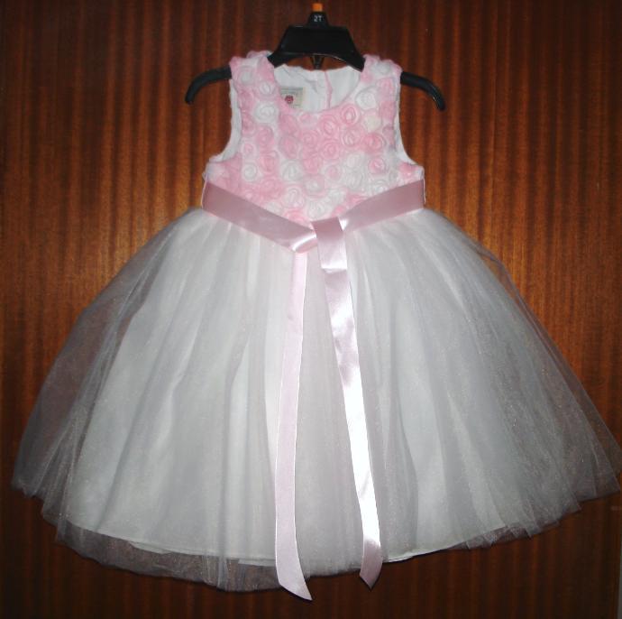 Ružovo biele šatky - Obrázok č. 1