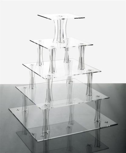Akrylový stojan na cupcake koláčiky - prenájom - Obrázok č. 3