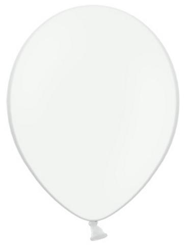 Balón 25cm - biely  - Obrázok č. 1