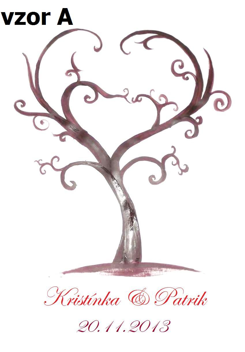Svadobné stromy -  na zakázku - Obrázok č. 4