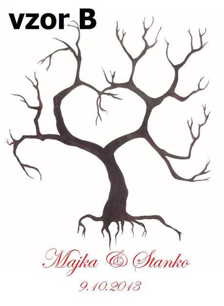 Svadobné stromy -  na zakázku - Obrázok č. 2