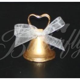"""Držiak """"zvonček"""" zlatý - Obrázok č. 3"""