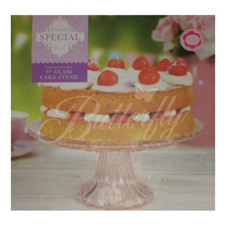 Sklenený podnos pod tortu - Obrázok č. 1