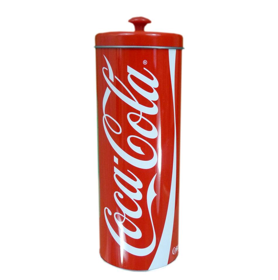 Coca-Cola držiak na slamky + 50slamiek - Obrázok č. 1