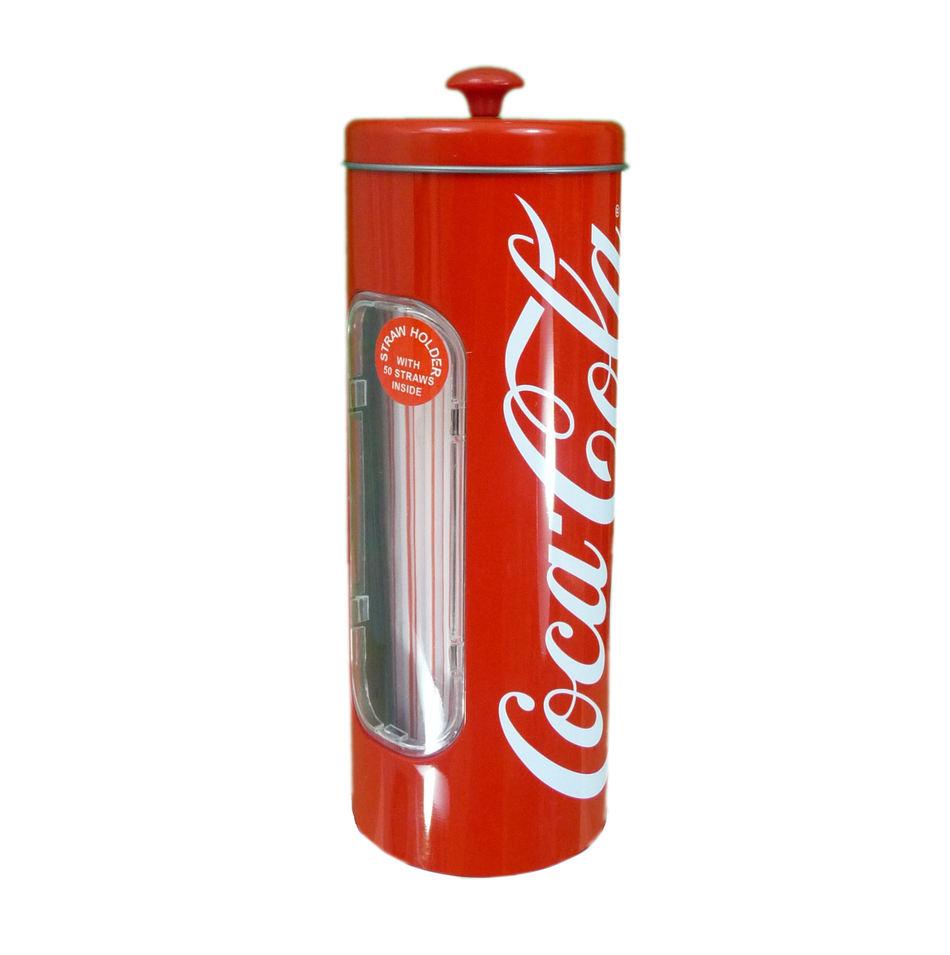 Coca-Cola držiak na slamky + 50slamiek - Obrázok č. 2