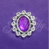 Dekoračný kameň - fialový,