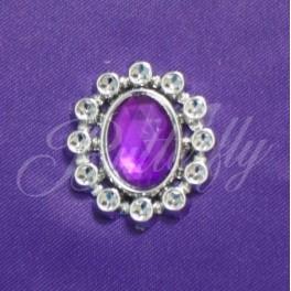 Dekoračný kameň - fialový - Obrázok č. 1
