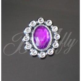 Dekoračný kameň - fialový - Obrázok č. 2