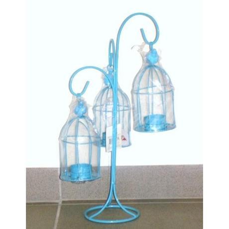 3ramenný držiak s lampášikmi - Obrázok č. 1