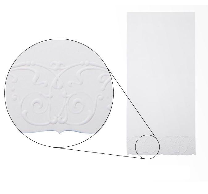 Menu karty 10ks / biele - Obrázok č. 1