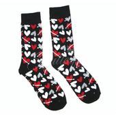 Ponožky so srdiečkami,