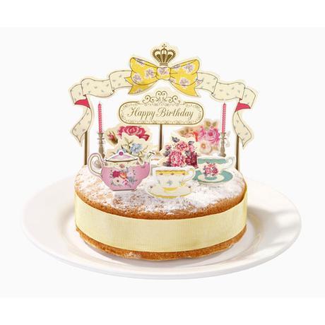 "Dekoračný set na tortu ""Vintage"" - Obrázok č. 1"
