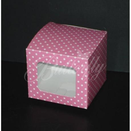 Bodkované krabičky 6ks - Obrázok č. 1
