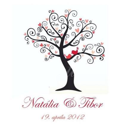 Svadobné stromy -  na zakázku - Obrázok č. 1