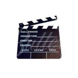 Filmárska klapka Hollywood - malá - Obrázok č. 1