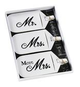 Visačky na batožinu Mr, Mrs, More Mrs,