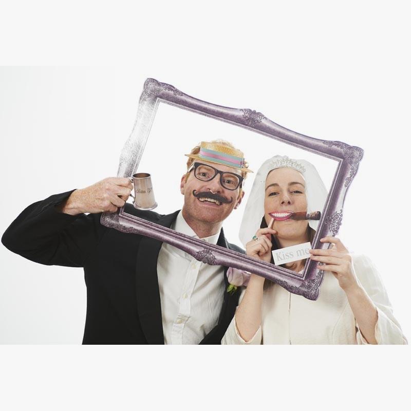 Set na fotenie - novomanželia - Obrázok č. 1