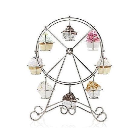 Otočný stojan na cupcake koláčiky / mufiny - Obrázok č. 3