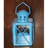 Lampášik - malý, modrý,