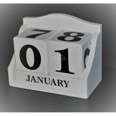 Drevený kalendár,