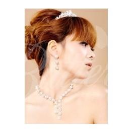 2-dielny set - perlový náhrdelník, náušnice - Obrázok č. 4
