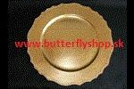 """Klubové taniere """"Vintage"""" - zlaté - Obrázok č. 2"""