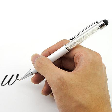 Dotykové Touch pero s kryštálikmi - Obrázok č. 1