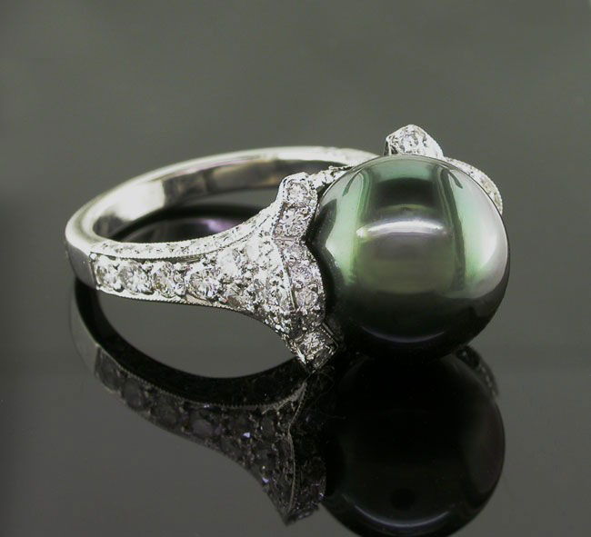 A ring by any other name... - Green pearl