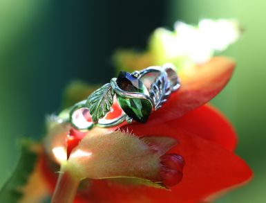 A ring by any other name... - alternative - tourmaline - changes shade depending light!