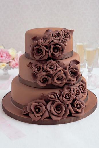 Wedding cake inspiration - chocolate heaven