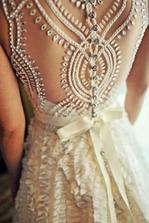 Love the back detail, different and stunning!
