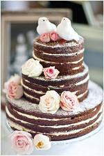 Simple wedding cake idea
