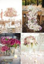 Wedding flowers - pretty in pink