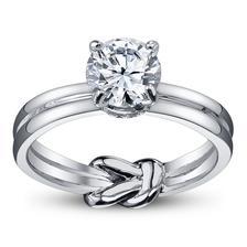 Wedding ring - love the hidden knot