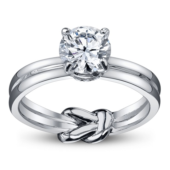 A ring by any other name... - Wedding ring - love the hidden knot