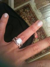 Wedding ring crossover