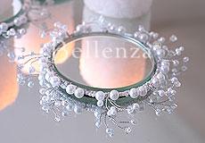 Mirror Plate Wedding Centrepieces - Obrázok č. 4