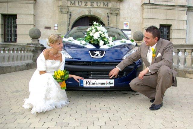 Lenka{{_AND_}}Marek - Naše svadobné autíčko