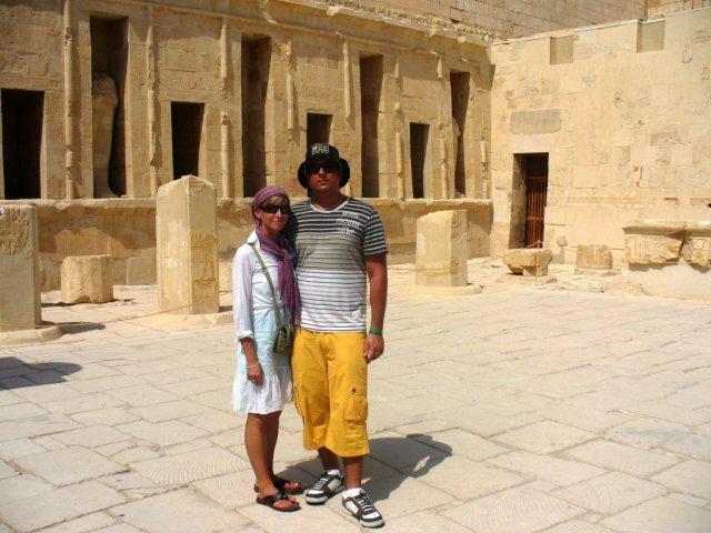 Lenka{{_AND_}}Marek - Na svadobnej ceste v Egypte výlet v Luxore