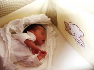 Náš drobček Tomáško čerstvo narodený 30.7.2009
